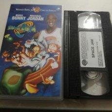 Cine: VHS- SPACE JAM- MICHAEL JORDAN. Lote 112597519