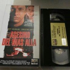 Cine: VHS- ASESINO DEL MAS ALLA- JEFF GOLDBLUM (2). Lote 112601072