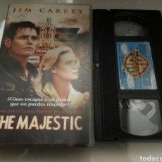 Cine: VHS- THE MAJESTIC- JIM CARREY. Lote 112601299