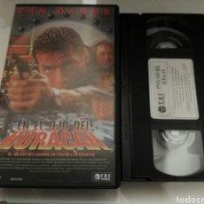 Cine: VHS- EN EL OJO DEL HURACAN- VAN DAMME. Lote 178863506