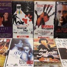 Cine: VHS !! LOTE COMPUESTO POR 8 PELÍCULAS / TODO PRECINTADO A ESTRENAR / VER FOTOS.. Lote 98174151