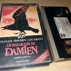 Cinema: LA MALDICION DE DAMIEN ( DAMIEN: OMEN II) 1978- VHS- 1 EDICION. Lote 98402738