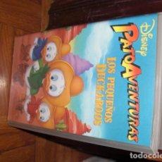 Cine: VHS DISNEY PATO AVENTURAS: LOS PEQUEÑOS DUCKAROOS. Lote 98405919