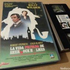 Cine: LA VIDA PRIVADA DE SHERLOCK HOLMES- VHS- BILLY WILDER. Lote 98406012