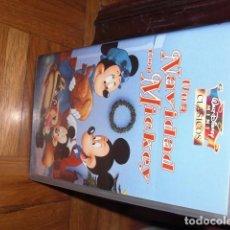 Cine: UNA NAVIDAD CON MICKEY. VHS DISNEY. Lote 98406043
