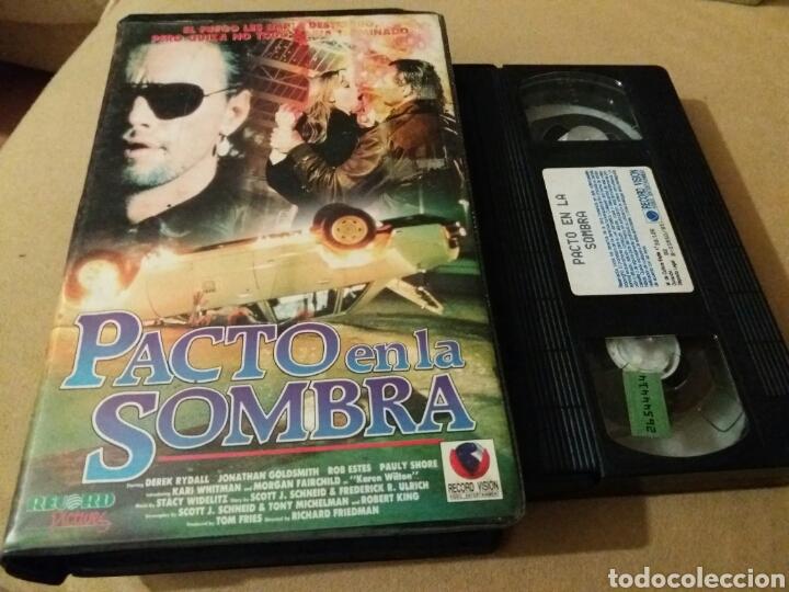 PACTO EN LA SOMBRA- VHS- 1988- DIR: RICHARD FRIEDMAN- TERROR (Cine - Películas - VHS)