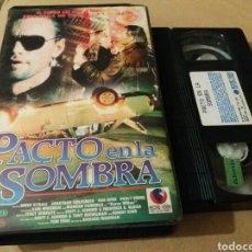 Cine: PACTO EN LA SOMBRA- VHS- 1988- DIR: RICHARD FRIEDMAN- TERROR. Lote 98406402