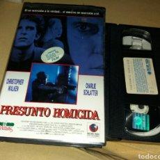 Cine: PRESUNTO HOMICIDA- VHS- CHRISTOPHER WALKEN- . Lote 98407227
