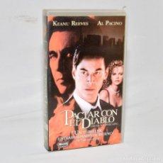 Cine: VHS - PACTAR CON EL DIABLO. Lote 98413387