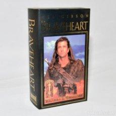 Cine: VHS - BRAVEHEART - EDICION DE LUJO - 2 CINTAS. Lote 98413803