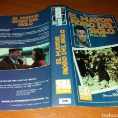 Cine: CARATULA VHS- EL MAYOR ROBO DEL SIGLO. Lote 98674616