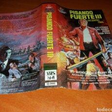 Cine: CARATULA VHS- PISANDO FUERTE 3 (2). Lote 98675863