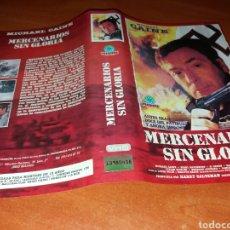 Cine: CARATULA VHS- MERCENARIOS SIN GLORIA. Lote 98687947