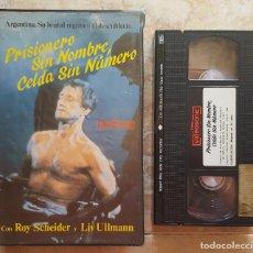 Cine: VHS - PRISIONERO SIN NOMBRE, CELDA SIN NUMERO. Lote 98697791