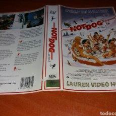 Cine: CARATULA VHS- HOT DOG. Lote 98706554