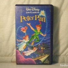 Cine: PETER PAN *** WALT DISNEY *** VHS INFANTIL ***. Lote 98779363