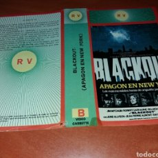 Cine: CARATULA VHS- BLACKOUT- APAGON EN NEW YORK. Lote 98816206