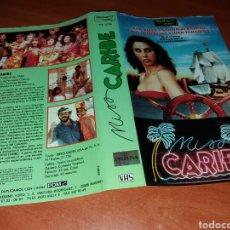 Cine: CARATULA VHS- MISS CARIBE. Lote 98894922
