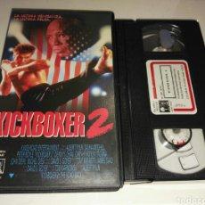 Cine: VHS- KICKBOXER 2- ALBERT PYUN. Lote 111569823