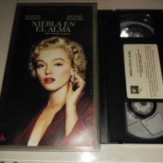 Cine: VHS- NIEBLA EN EL ALMA- MARILYN MONROE. Lote 99154712