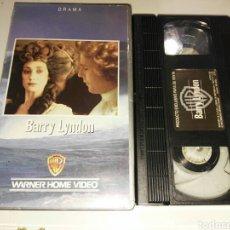 Cine: VHS- BARRY LYNDON- STANLEY KUBRICK. Lote 99154830