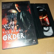 Cine: THE ORDER- VHS- VAN DAMME- EDICION VIDEO CLUB. Lote 99155123
