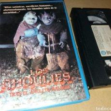 Cine: LOS GHOULIES 4 TRAS EL AMULETO MALDITO- VHS. Lote 99210116
