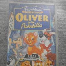 Cine: OLIVER Y SU PANDILLA - CLASICOS DE DISNEY (PELICULA ORIGINAL). Lote 99308927