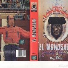 Cine: VHS - EL MONOSABIO - JOSE LUIS LOPEZ VAZQUEZ. Lote 99465983
