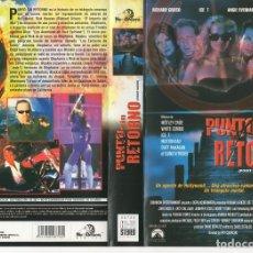 Cine: VHS - PUNTO SIN RETORNO. Lote 99822975