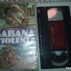 Cine: SABANA VIOLENTA VHS MONDO MOVIE ULTRA RARA, CULTO, UNICA EN TC. Lote 99945603
