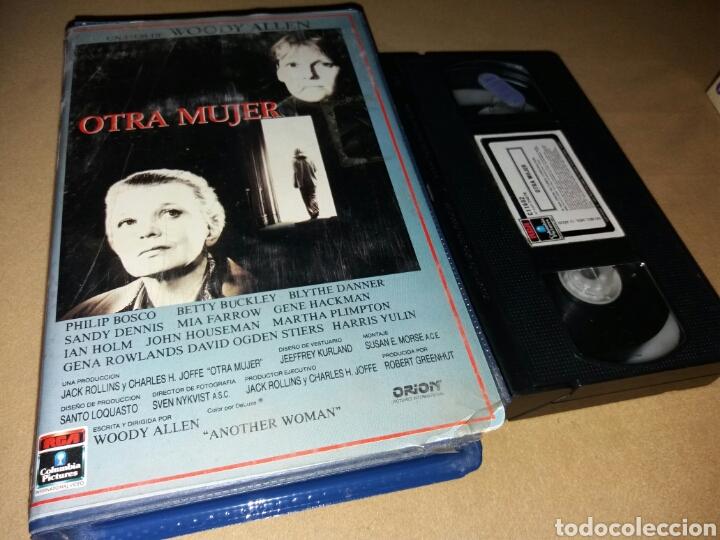 OTRA MUJER- VHS- WOODY ALLEN- 1 EDICION (Cine - Películas - VHS)