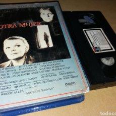 Cine: OTRA MUJER- VHS- WOODY ALLEN- 1 EDICION. Lote 100172007