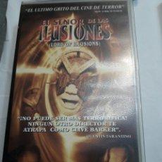 Cine: VHS EL SEÑOR DE LAS ILUSIONES ORIGINAL. Lote 100193867