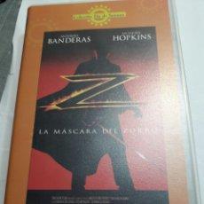 Cine: VHS LA MÁSCARA DEL ZORRO ORIGINAL. Lote 100194087