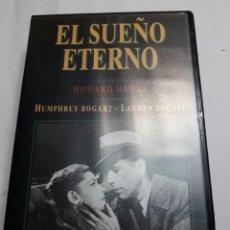 Cine: VHS EL SUEÑO ETERNO ORIGINAL. Lote 100194368