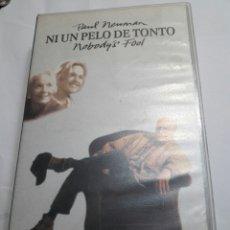 Cine: VHS NI UN PELO DE TONTO ORIGINAL. Lote 100194479