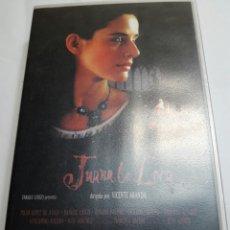 Cine: VHS JUANA LA LOCA ORIGINAL. Lote 100194566