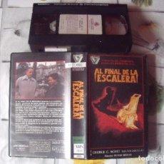 Cine: AL FINAL DE LA ESCALERA. VHS ORIGINAL. Lote 100199367