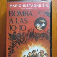 Cine: VHS BOMBA A LAS 10:10 (1967) DE CASEY DIAMOND. CON GEORGE MONTGOMERY. ¡NUEVA!. Lote 164124733