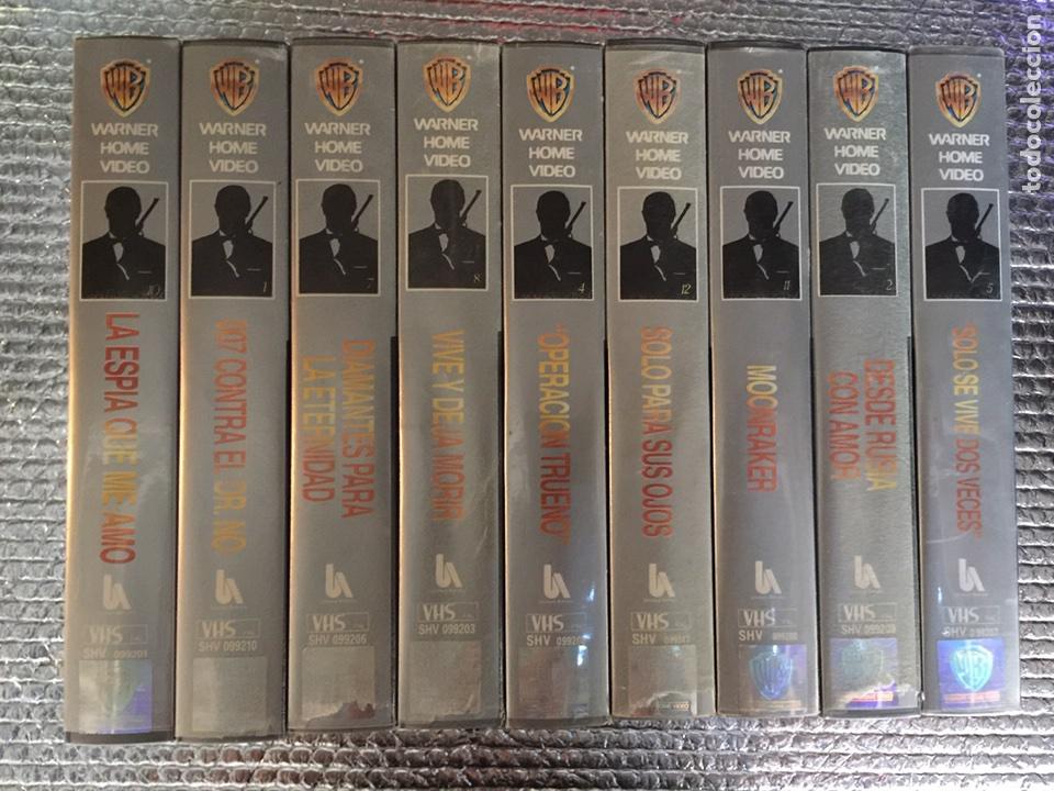 COLECCIÓN JAMES BOND 007 (Cine - Películas - VHS)