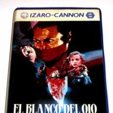 Cine: EL BLANCO DEL OJO (1987) - DONALD CAMMELL DAVID KEITH CATHY MORIARTY ALAN ROSENBERG VHS. Lote 100407795