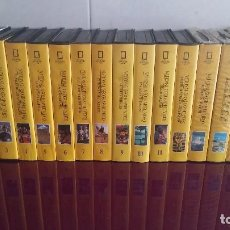 Cine: 16 VIDEOS VHS DOCUMENTALES DE NATIONAL GEOGRAPHIC.. Lote 100429827