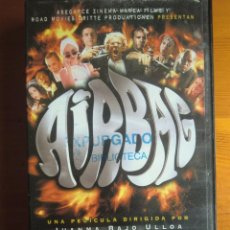 Cine: VHS AIRBAG (1997) DE JUANMA BAJO ULLOA. CON KARRA ELEJALDE. COMO NUEVA. Lote 100439735