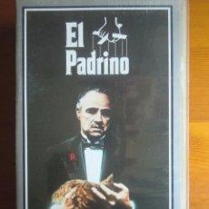 Cine: VHS EL PADRINO (1972) DE FRANCIS FORD COPPOLA. CON MARLON BRANDO Y AL PACINO. COMO NUEVA. Lote 100461855