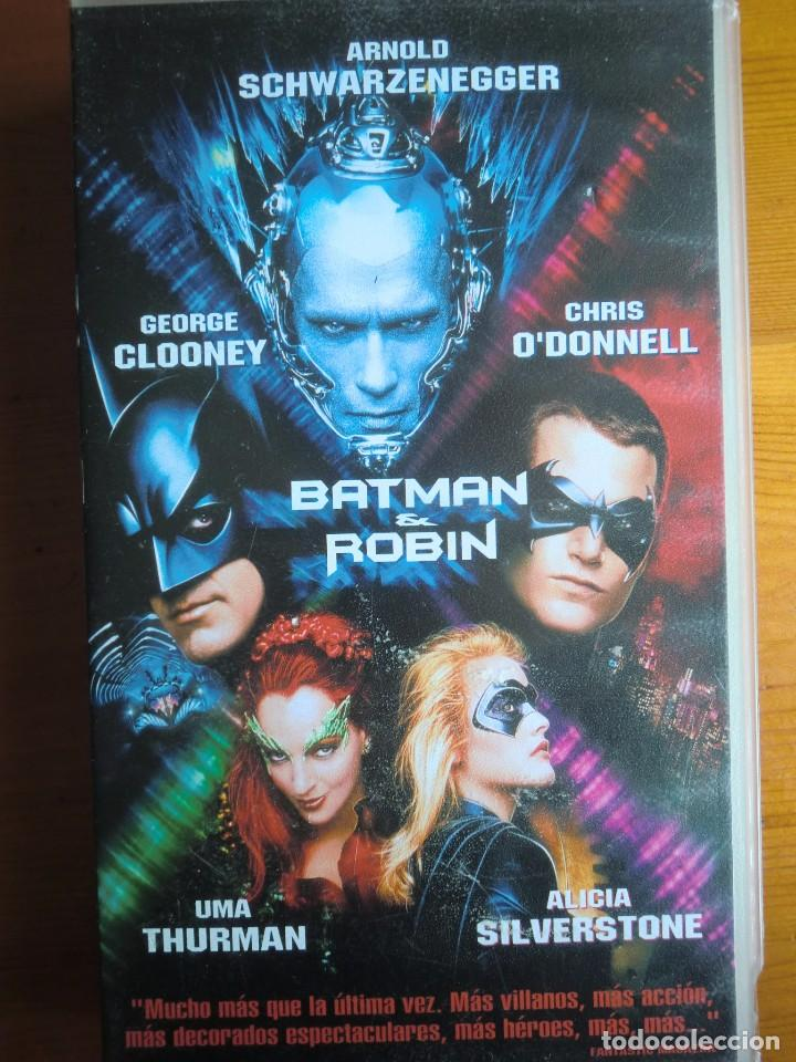 Vhs Batman Robin 1997 De Joel Schumacher C Buy Vhs Movies At Todocoleccion 100464099