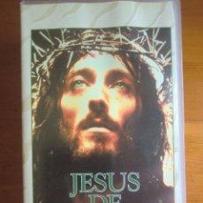 Cine: 2 VHS JESÚS DE NAZARET (1977) DE FRANCO ZEFFIRELLI. ¡COMO NUEVA!. Lote 165374893