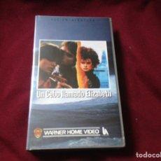 Cine: UN CEBO LLAMADO ELIZABETH VHS. Lote 100569114