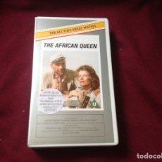 Cine: THE AFRICAN QUEEN VHS VERSIÓN ORIGINAL UK LA REINA DE AFRICA. Lote 100569332