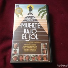 Cine: MUERTE BAJO EL SOL VHS. Lote 100569399